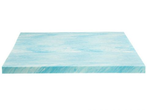 DreamFoam Bedding Gel Swirl Memory Foam Topper Review