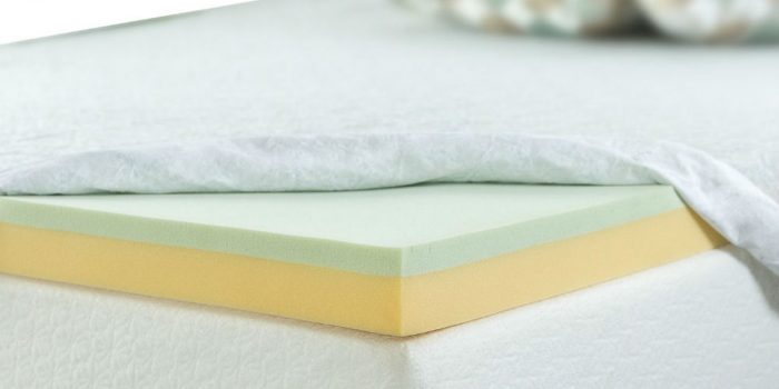 Zinus 3 Inch Green Tea Memory Foam Mattress Topper Review